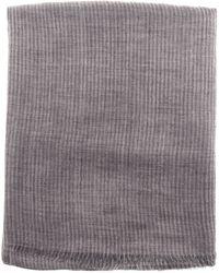 Janavi Pure Cashmere Scarf gray - Lyst
