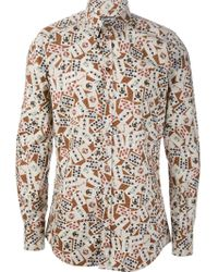 Dolce & Gabbana Playing Card Shirt - Lyst
