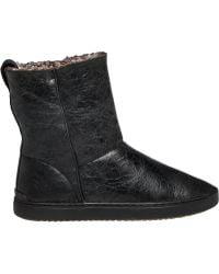 Rag & Bone | Kali Crackled Leather Sneaker Boots | Lyst
