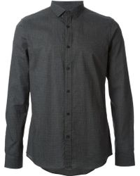 Michael Kors Slim Fit Dotted Shirt - Lyst