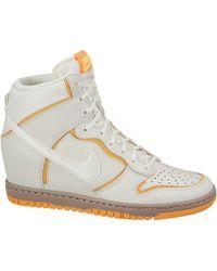Nike - Wmns Dunk Sky Hi Atomic Mango - Lyst