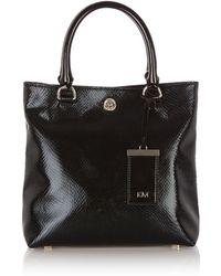 Karen Millen Black Handbags - Lyst