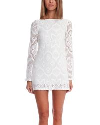 Nightcap Crochet Priscilla Dress - Lyst