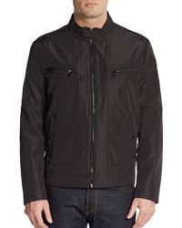 Kenneth Cole Reaction Zip-Front Jacket - Lyst