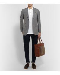 Dunhill - Grey Belgravia Slim-Fit Wool Suit - Lyst
