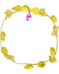 Carven Hair Accessory yellow - Lyst