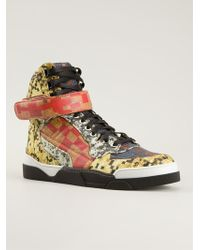 Givenchy Tyson Hitop Sneakers - Lyst