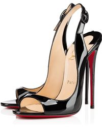 Christian Louboutin Black Allenissima - Lyst