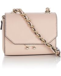 Karen Millen Mini Leather Shoulder Bag - Lyst