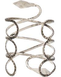 Natalie B. Jewelry - Viper Cuff - Lyst