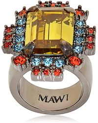 "Mawi ""Barbarella"" Collection Ring - Lyst"