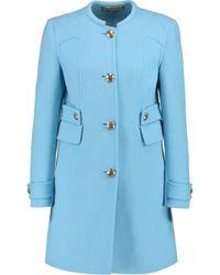 Emilio Pucci - Wool And Angora-blend Coat - Lyst