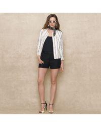 Ralph Lauren Blue Label - Striped Linen Jacket - Lyst