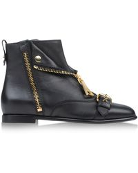 Moschino Ankle Boots - Lyst