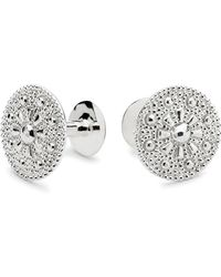 Alice Made This Theodore Silver Cufflink & Lapel Pin Set - Lyst