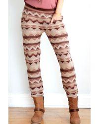 Goddis Paloma Knit Pants - Lyst