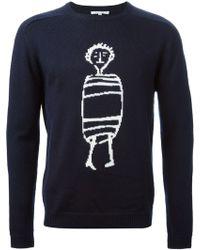 Carven Little Chap Sweater - Lyst