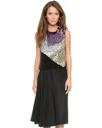3.1 Phillip Lim Embellished Mini Top   - Lyst