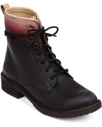 Lucky Brand Novembere Booties - Lyst