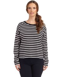French Connection Striped Sweater - Lyst