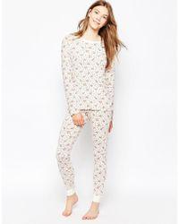 Cath Kidston | Bramley Sprig Nightwear Top | Lyst