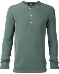 RRL Long Sleeved T-Shirt - Lyst