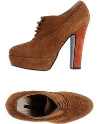 D'Ambra - Lace-up Shoes - Lyst