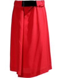 Maison Margiela Knee Length Skirt - Lyst