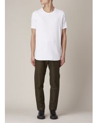 Wings + Horns Olive Field Trousers - Green