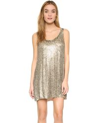 MLV - Nina Stovetop Beaded Dress - Lyst