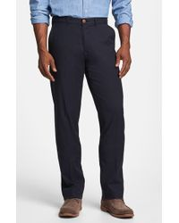 Tommy Bahama 'Bryant' Flat Front Pants - Lyst