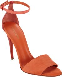 Narciso Rodriguez Anklestrap Sandals - Lyst