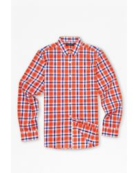 French Connection High Summer Check Shirt - Lyst