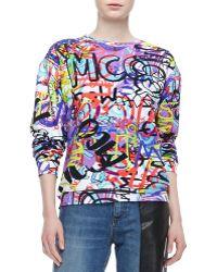 McQ by Alexander McQueen Graffiti Sweatshirt - Lyst