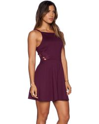 Free People Cha Cha Ponte Like A Dream Dress - Lyst