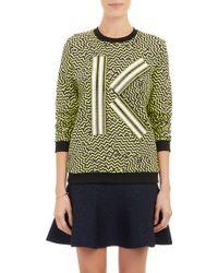 Kenzo Broken Floor-Print Sweatshirt - Lyst