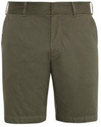 Tomas Maier Cotton-Gabardine Shorts - Lyst