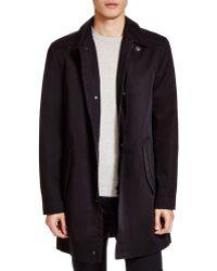 BOSS | Hugo Manset Overcoat | Lyst