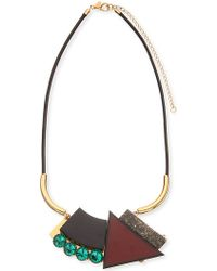 Marni Geometric-Pendant Necklace - For Women - Lyst