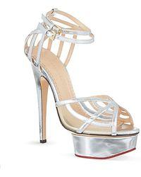 Charlotte Olympia Octavia Platform Sandals - For Women - Lyst