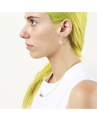 Sorelle Celine Hoops gold - Lyst