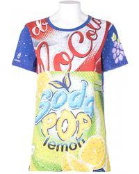 Moschino Cotton T-Shirt Soda Print - Lyst