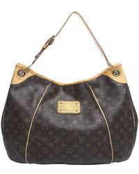 Louis Vuitton | Pre-owned Monogram Canvas Galliera Gm Bag | Lyst