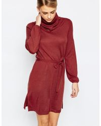 Oasis | 70s Cowl Tunic Dress | Lyst