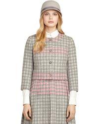 Brooks Brothers Knit Jacket - Lyst