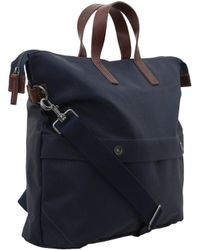 Ally Capellino Large Navy Owen Bag - Blue