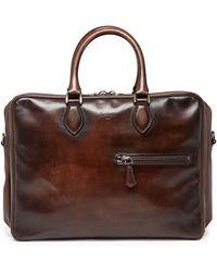 Berluti - Three-zip Leather Briefcase - Lyst