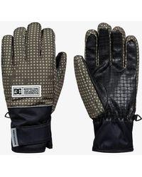 DC Shoes Snowboard/ski Gloves - Brown