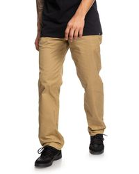 DC Shoes - Chinos - Lyst