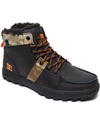 DC Shoes - Lace-up Boots - Lyst